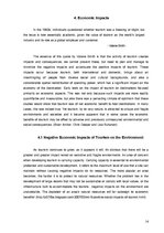 Реферат 'Positive and Negative Impacts of Tourism on the Environment', 14.