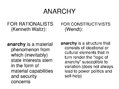 Презентация 'Alexander Wendt: Anarchy Is what States Make of It: The Social Construction of P', 8.