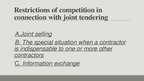 Презентация 'Joint Tendering Under EU Competition Law', 6.