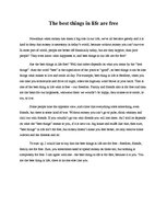 essay about the best things in life Short essay on life article shared by life is beautiful but not always easy, it has problems, too, and the challenge lies in facing them with courage.