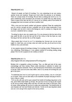 Travelling эссе с переводом 870